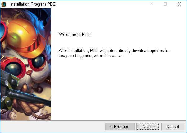 download league of legends pbe